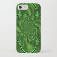 clover iPhone & iPod Cases featuring Clover by Sartoris ART