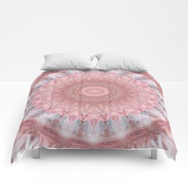 Mandala pink balance Comforters