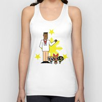 powerpuff girls Tank Tops featuring Andres Bonifacio and the Filipino Powerpuff Girls by Cesar Cueva
