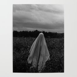 Ghost in the Field - Tall Poster