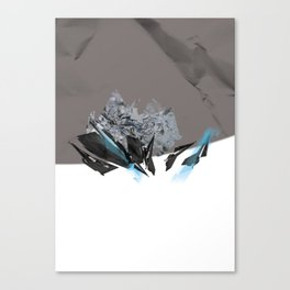 Blue Symbiote Canvas Print