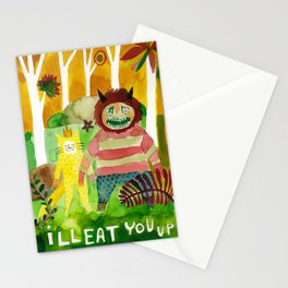 I'll Eat You Up Stationery Cards