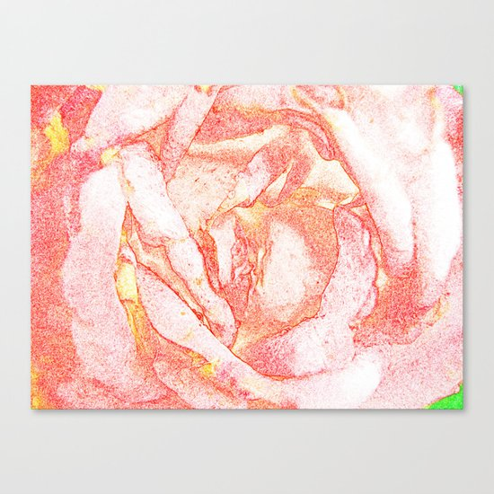 TENDER FLOWER Canvas Print