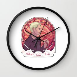 Spike Wall Clock