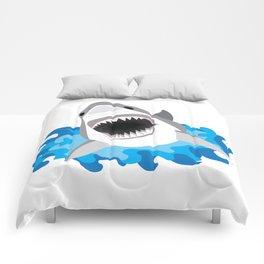 Shark Attack #2 Comforters