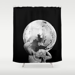 Weight of the Weekend Shower Curtain