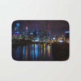 Philly Skyline Glowing Bath Mat