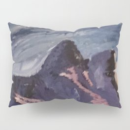 mountains sunset  Pillow Sham