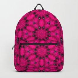 Pink Flower Power Backpack