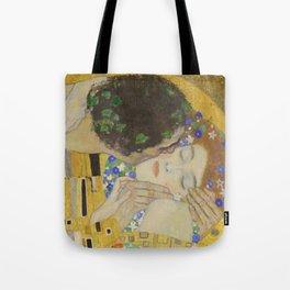 The Kiss - Closeup - Gustav Klimt Tote Bag