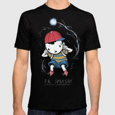 pk smash LARGE Black Mens Fitted Tee
