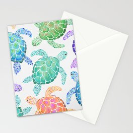 Sea Turtle - Colour Stationery Cards