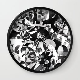 Subtext Wall Clock