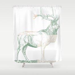 Stoic Elk Shower Curtain