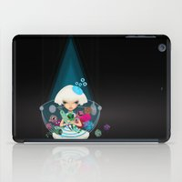 monster hunter iPad Cases featuring hunter by Anne  Martwijit