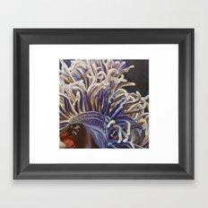 Anemone Framed Art Print