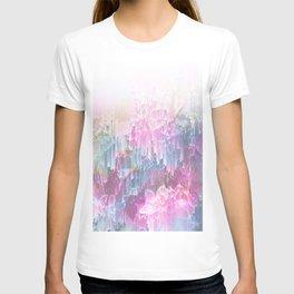 Magical Nature - Glitch Pink & Blue T-shirt