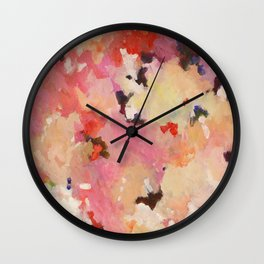 Pink Blush Wall Clock