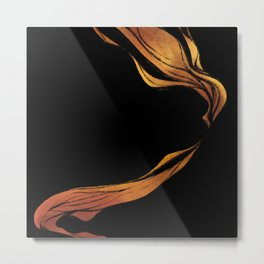 Fire - abstract Metal Print