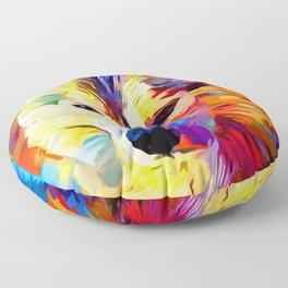Husky 4 Floor Pillow