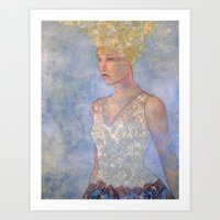 focus Art Prints featuring Focus by Hinterland Girl