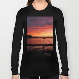 Fiery Afterglow Long Sleeve T-shirt
