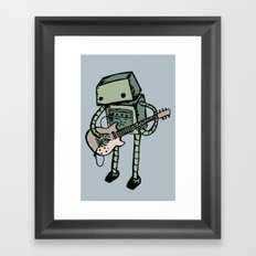 Practice make perfect Framed Art Print