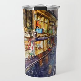 Melbourne Streetscape Travel Mug
