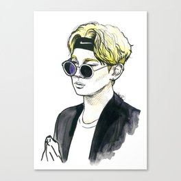 Fashionista Key. Canvas Print