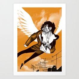 James Icarus Art Print