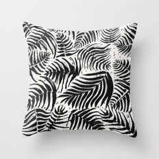 Palm Pattern Throw Pillow