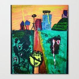 Road endsia Canvas Print