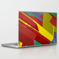 3d Laptop & iPad Skins featuring 3D by John VanHouten
