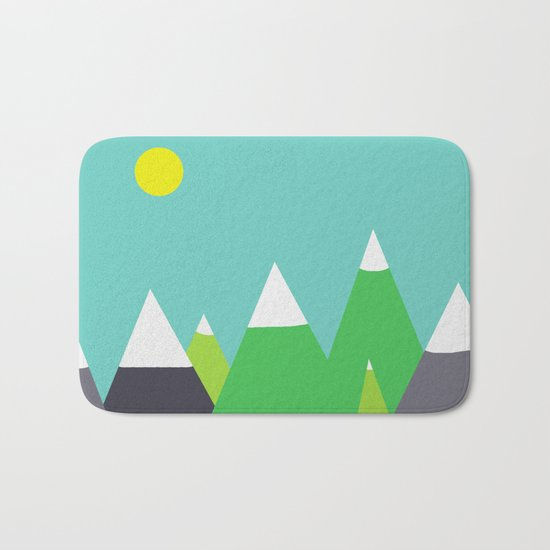 Mountain Bath Mat