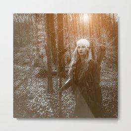 Elven Archer 2 Metal Print