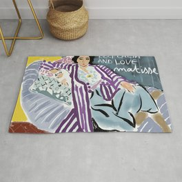 Keep calm and love Matisse Rug