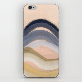Minimal montains iPhone Skin