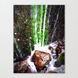 Soft Trickle Canvas Print