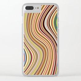 Old Skool Stripes - Flow Clear iPhone Case