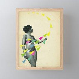 She's a Whirlwind Framed Mini Art Print