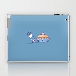 Cream pie Laptop & iPad Skin