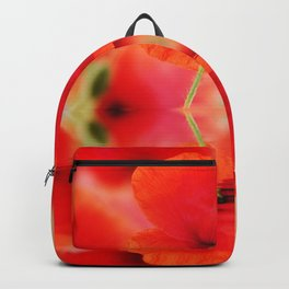 Summer Dream of Poppies Backpack