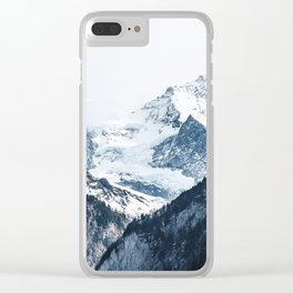 Mountains 2 Clear iPhone Case