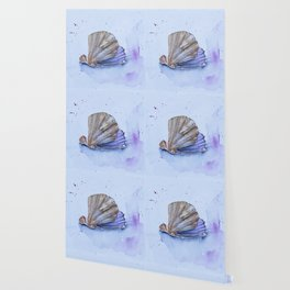 The great scallop - Pecten maximus Wallpaper