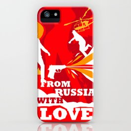 James Bond Golden Era Series :: From Russia with Love iPhone Case