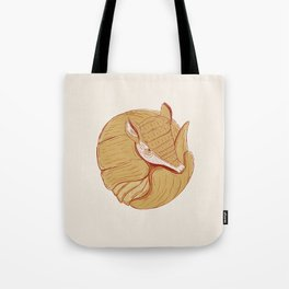 Long-nosed Armadillo Tote Bag