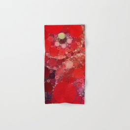 Red Poppies Hand & Bath Towel