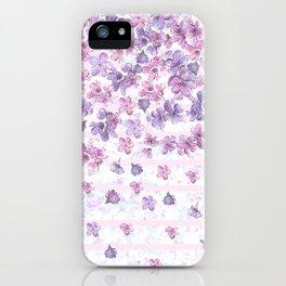 Make It Rain Flowers iPhone Case