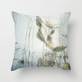Milk Weed Throw Pillow