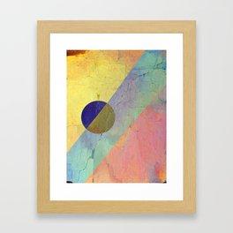 Hipster Solar Flare Framed Art Print